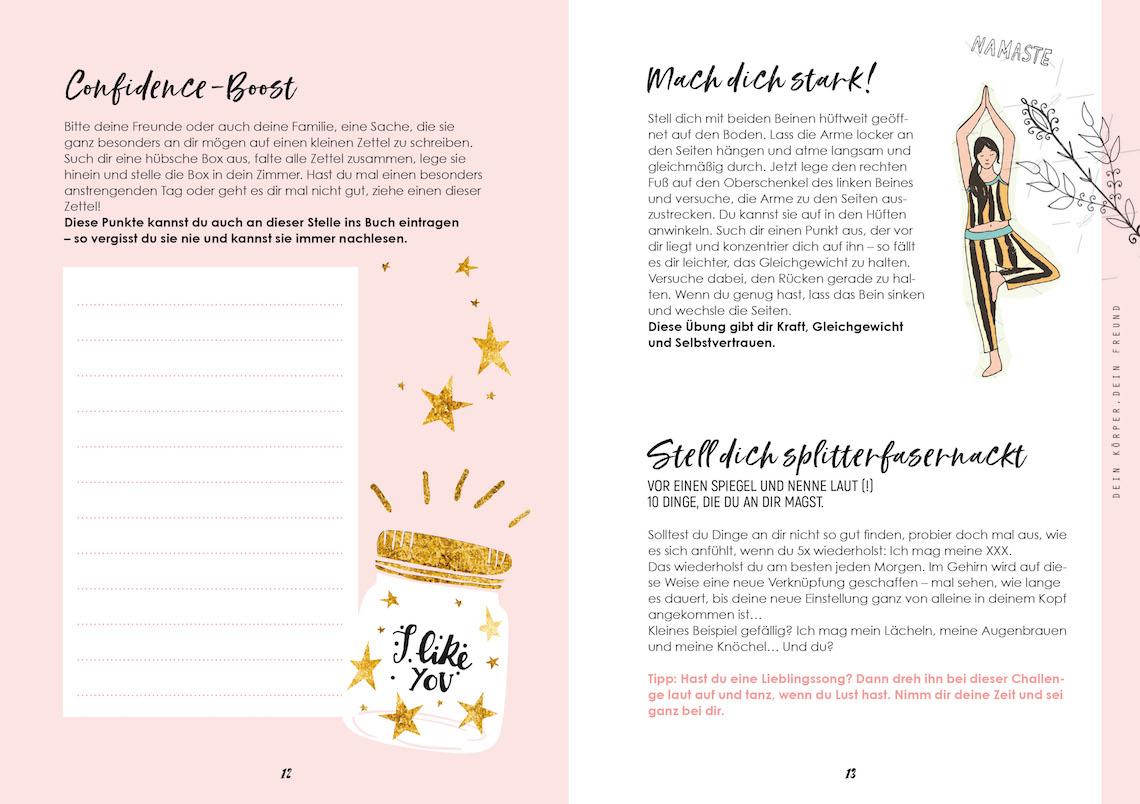 Mädelsschnack l Lisa-Marie Koroll Buch Bibi und Tina