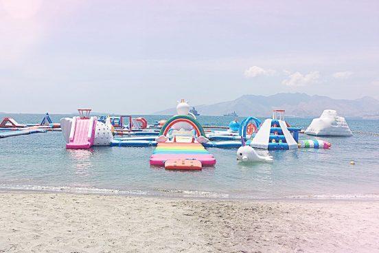 Mädelsschnack l Einhorn-Insel Inflatable Island