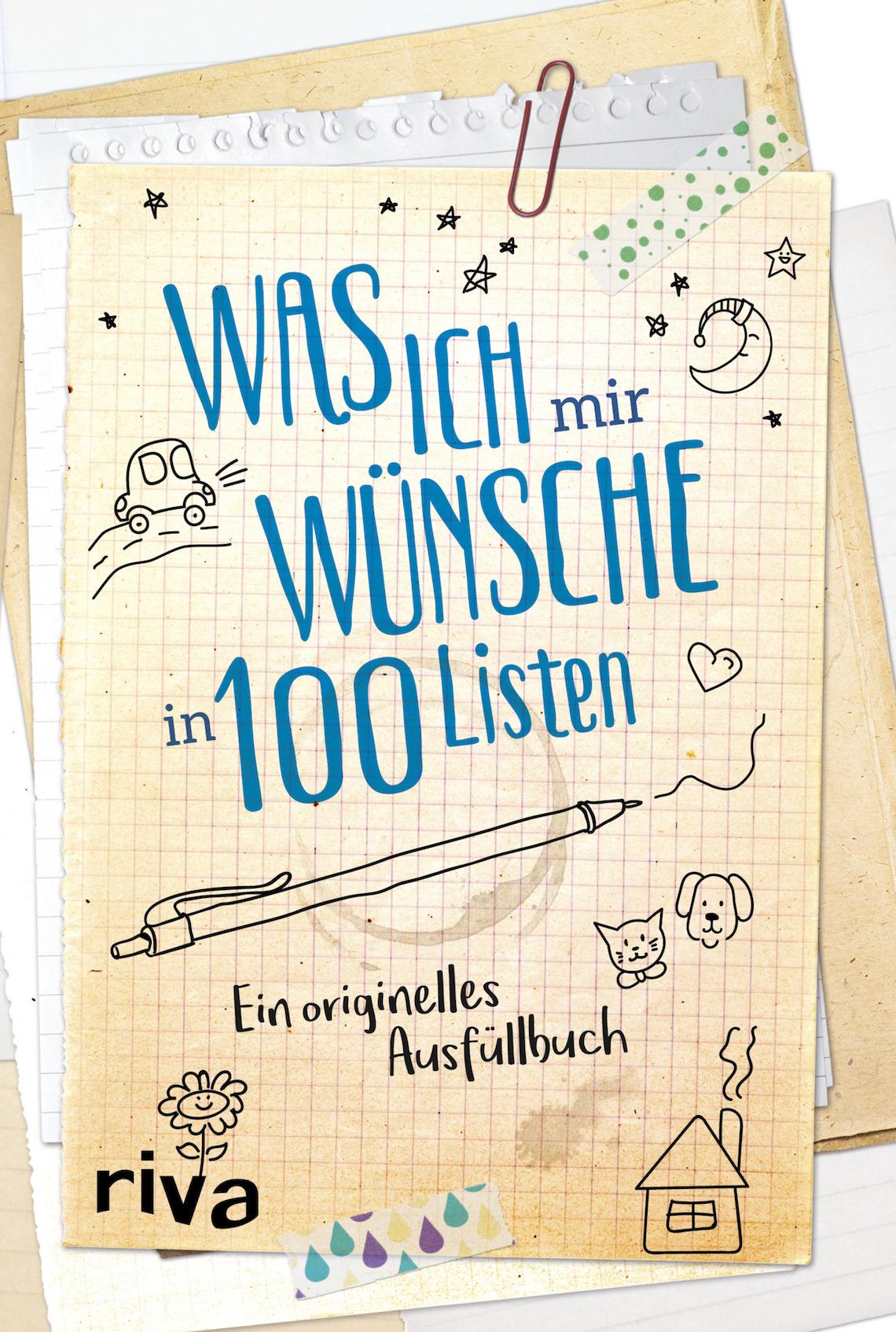 Mädelsschnack l Ausfüllbuch Was ich mir wünsche in 100 Listen