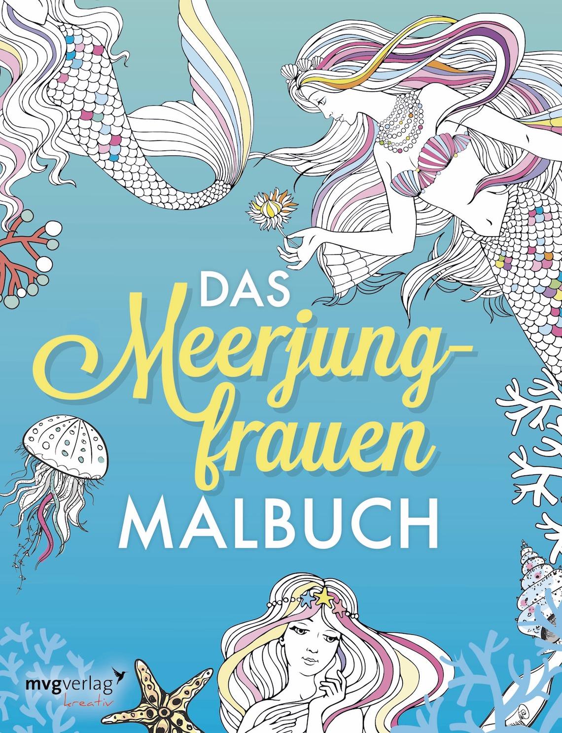 Mädelsschnack l Meerjungfrauen-Malbuch