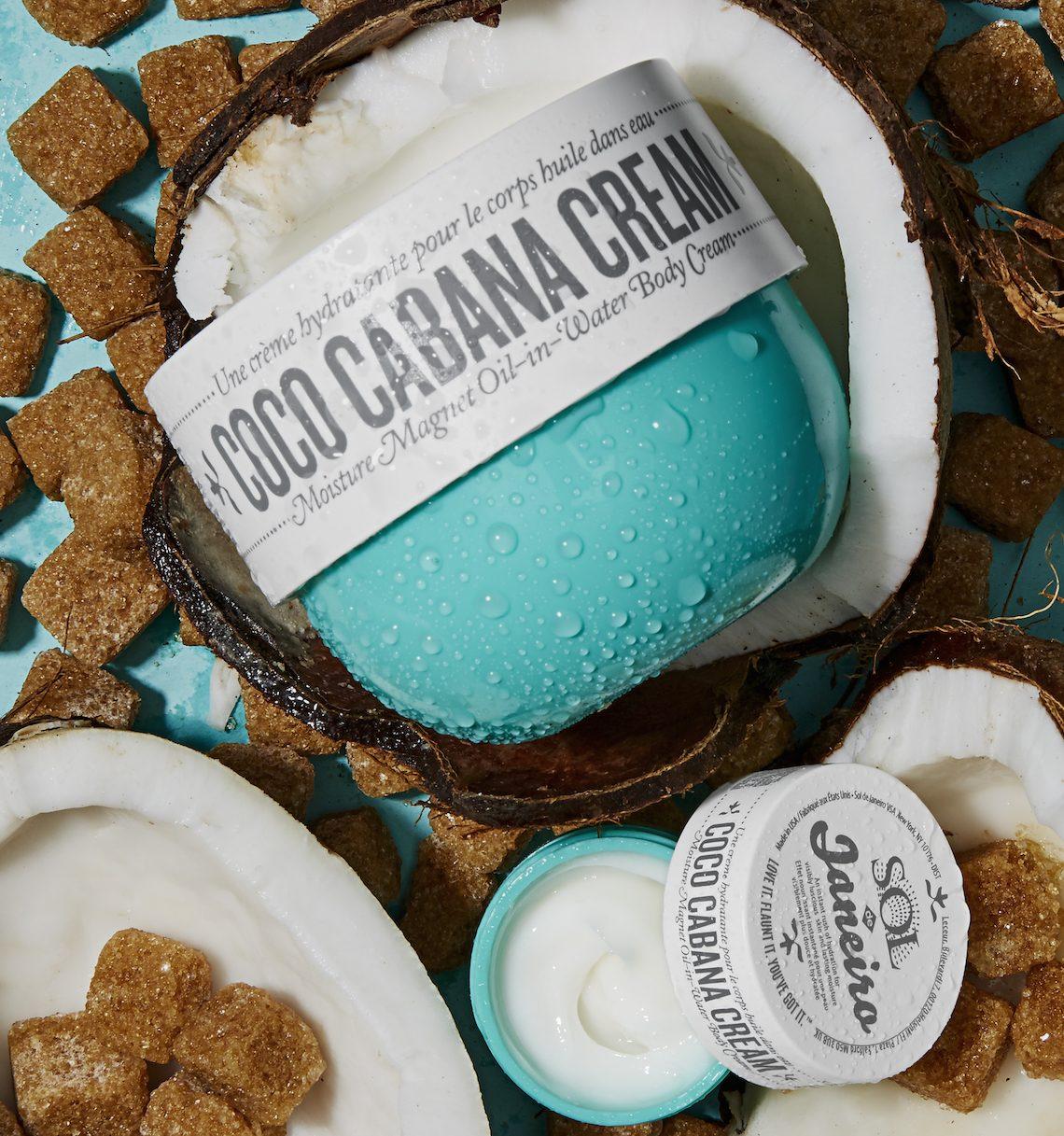 Herrlich! Dich mit der Coco Cabana Cream von SOL DE JANEIRO einzucremen fühlt sich ungefähr so an, als würdest du in eine gigantische Kokosnuss springen – und es riecht auch so!